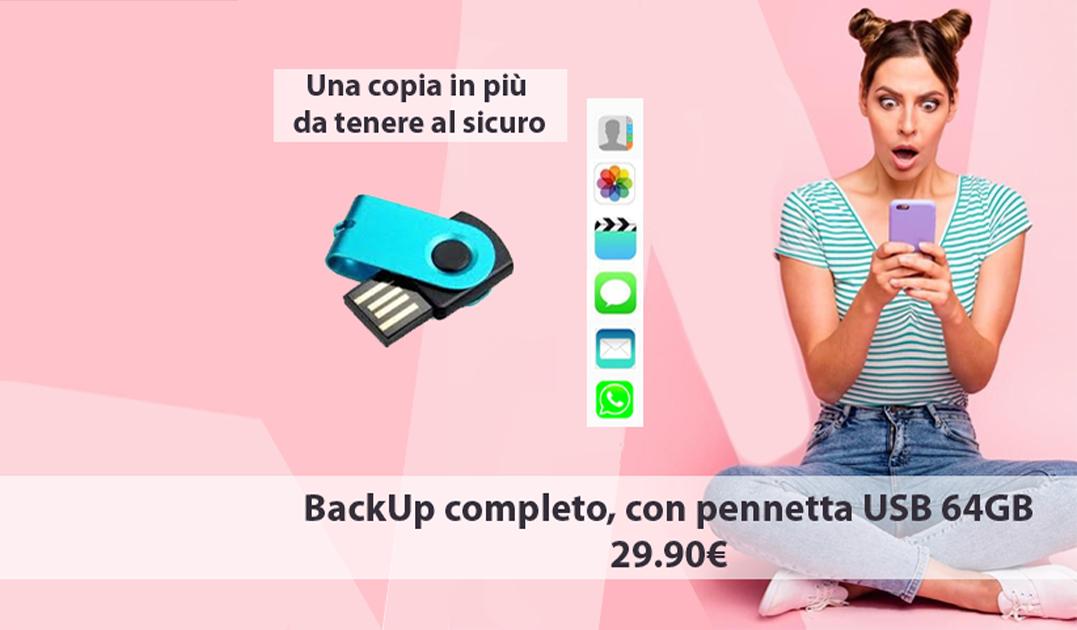 Backup con copia completa